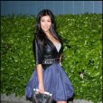 Kim Kardashian durant la première à New York du film Obsessed de Steve Shill