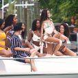 Winnie Harlow fête son anniversaire (24 ans) à Miami. Le 28 juillet 2018.