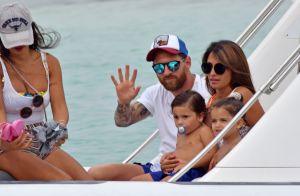 Lionel Messi : Vacances en famille sportives avec Antonella et leurs enfants