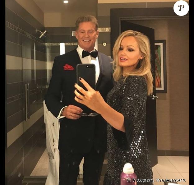 David Hasselhoff a épousé sa jeune compagne Hayley Roberts en Italie, ce 31 juillet 2018.