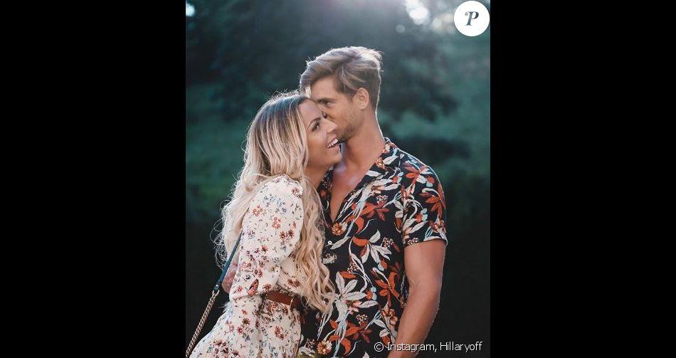 Hillary (La Villa) présente son nouveau petit ami Giovanni - Instagram, 31 juillet 2018