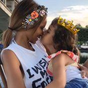 Sonia Rolland : Instant câlin avec sa fille Kahina