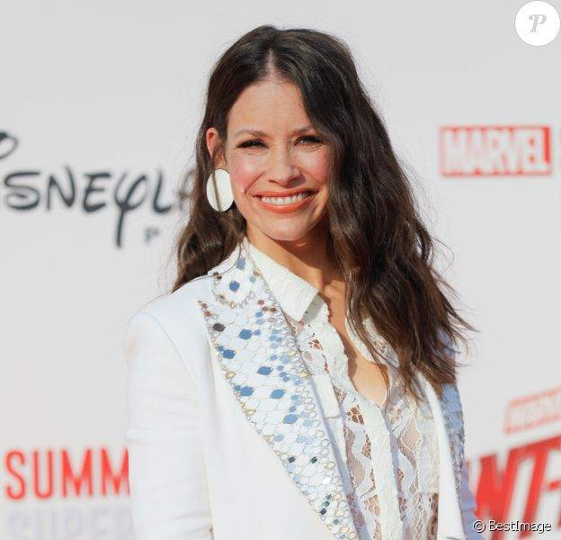 "Evangeline Lilly - Avant-première européenne du film ""Ant-man et la guêpe"" à Disneyland Paris à Marne-la-Vallée, le 14 juillet 2018 © CVS/Bestimage  Celebrities at the European premiere of the movie ""Ant-man and the wasp"" at Disneyland Paris on July 14, 201814/07/2018 - Marne-la-Vallée"