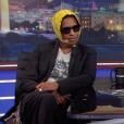 A$AP Rocky sur le plateau du Daily Show with Trevor Noah. Août 2018.