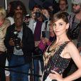 """Clotilde Courau arrive au dîner """"Dior - Madame Figaro"""" à l'hôtel JW Marriott lors du 71ème Festival International du Film de Cannes, le 12 mai 2018."""