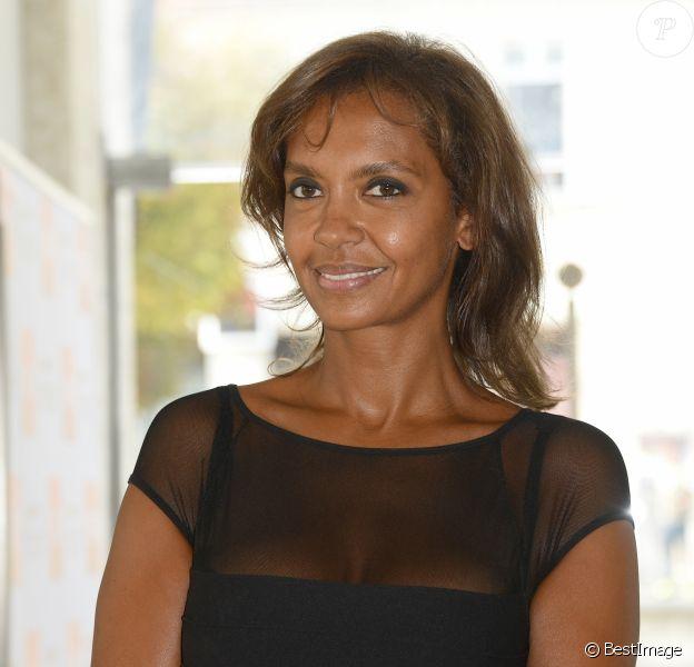 Karine Le Marchand - Clôture de la 8ème édition du festival du film francophone d'Angoulême le 30 aout 2015.