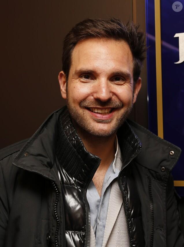 Exclusif - Christophe Michalak - Inauguration de la nouvelle chocolaterie Jean-Paul Hévin à Paris, le 27 novembre 2014.