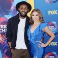 """Allison Holker et son mari Stephen """"tWitch"""" Boss lors de la soirée FOX's Teen Choice Awards 2018 au The Forum à Inglewood, Californie, Etats-Unis, le 12 août 2018."""