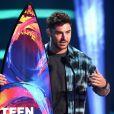 Zac Efron lors de la soirée FOX's Teen Choice Awards 2018 au The Forum à Inglewood, Californie, Etats-Unis, le 12 août 2018.