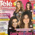 """Couverture du nouveau numéro de """"Télé 2 semaines"""" paru le lundi 13 août 2018"""