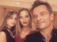 David Hallyday fête ses 52 ans : Réunion complice avec ses filles Ilona et Emma