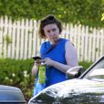 Exclusif - Lena Dunham a été aperçue dans les rues de Los Angeles, le 7 aout 2018.