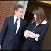 Nicolas Sarkozy et Carla Bruni, amoureux à Madrid, sont devenus très copains avec José Luis Zapatero et son épouse ! Regardez !