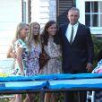 Robert Kennedy Jr, Cheryl Hines - Exclusif - Cérémonie de mariage de Robert Kennedy III et Amaryllis Fox dans la propriété de famille Kennedy Campound à Hyannis port dans le Massachusetts, le 7 juillet 2018.
