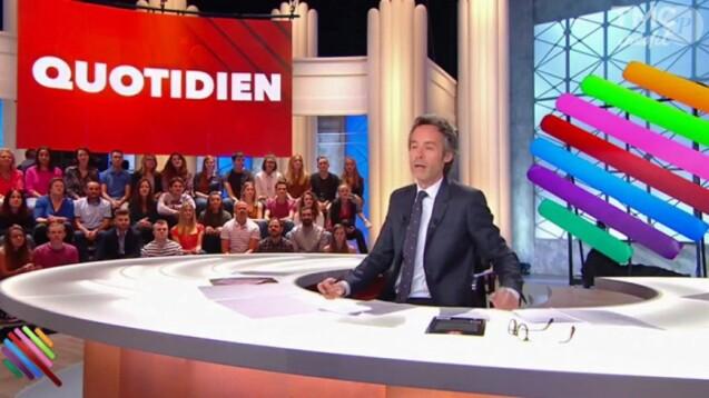 """Yann Barthès dans """"Quotidien""""."""