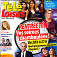 """Couverture du magazine """"Télé Loisirs"""" en kiosques lundi 27 août 2018"""