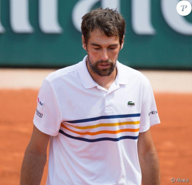 Jérémy Chardy à Roland-Garros en mai 2018.