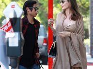 Angelina Jolie rayonne épaules nues avec Pax... après avoir viré son avocate