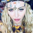 Madonna au Maroc pour ses 60 ans. Instagram le 15 août 2018.