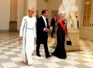 Brigitte et Emmanuel Macron très élégants pour le dîner d'Etat au Danemark