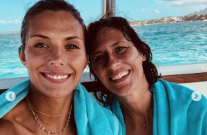Camille Cerf sexy en bikini à l'île Maurice : Moment complice avec sa maman