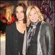Marie Fugain et Fiona Gélin, à l'occasion de la soirée de lancement de l'agence artistique Inouï, le 29 avril 2009, à Paris !