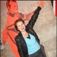Sophie Forte, à l'occasion de la soirée de lancement de l'agence artistique Inouï, le 29 avril 2009, à Paris !