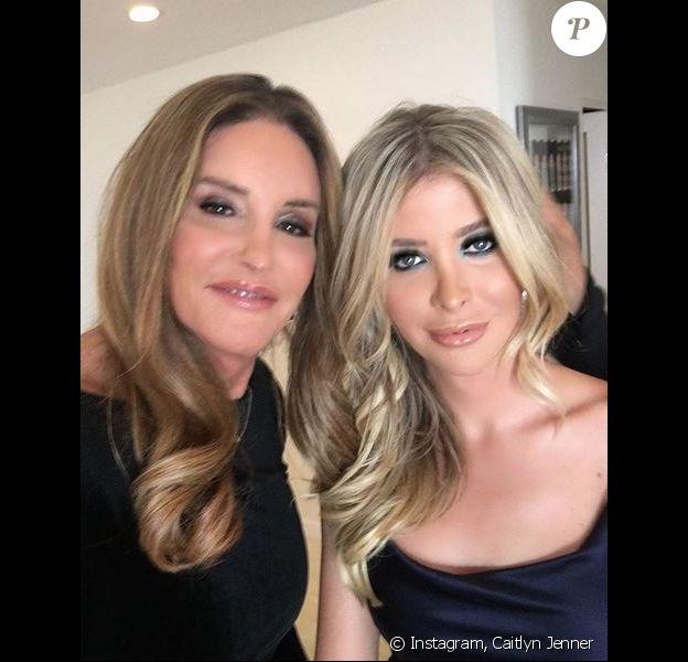 Caitlyn Jenner et sa compagne Sophia Hutchins. Juillet 2018.