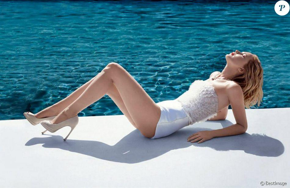 Jennifer Lawrence figure sur la campagne de Joy, le nouveau parfum Dior.