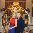 Ronan Keating et sa femme Storm au lancement de la collection IWC Da Vinci au salon international de la haute horlogerie à Genève le 17 janvier 2017.