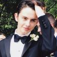 Dylan Douglas, fils de Catherine Zeta-Jones et Michael Douglas sur une photo publiée sur Instagram le 27 mai 2018. Le jeune homme de 17 ans s'est rendu au bal de promo de son lycée et sera prochainement diplômé.