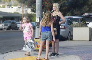 Tori Spelling : Shopping entre filles pour la star encore amincie