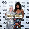 """Rose McGowan et Naomi Campbell à la soirée """"2018 GQ Men of the Year Awards"""" à la Tate Modern à Londres, le 5 septembre 2018."""