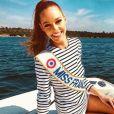 Maëva Coucke, Miss France 2018 en déplacement à Cannes - Instagram, 16 avril 2018