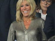 Brigitte Macron superbe en doré pour le retour des Bleus au Stade de France