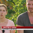 """Christina et Didier dans l'épisode 1 de """"Pékin Express : La Course infernale"""" sur M6."""