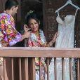 Exclusif - Mariage de Janel Parrish (Pretty Little Liars) et Chris Long à Oahu à Hawaii, le 9 septembre 2018