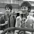 John Lennon et Paul McCartney à Londres en 1967