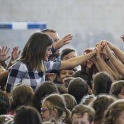 Letizia d'Espagne : Bain de foule de rentrée au royaume des Asturies