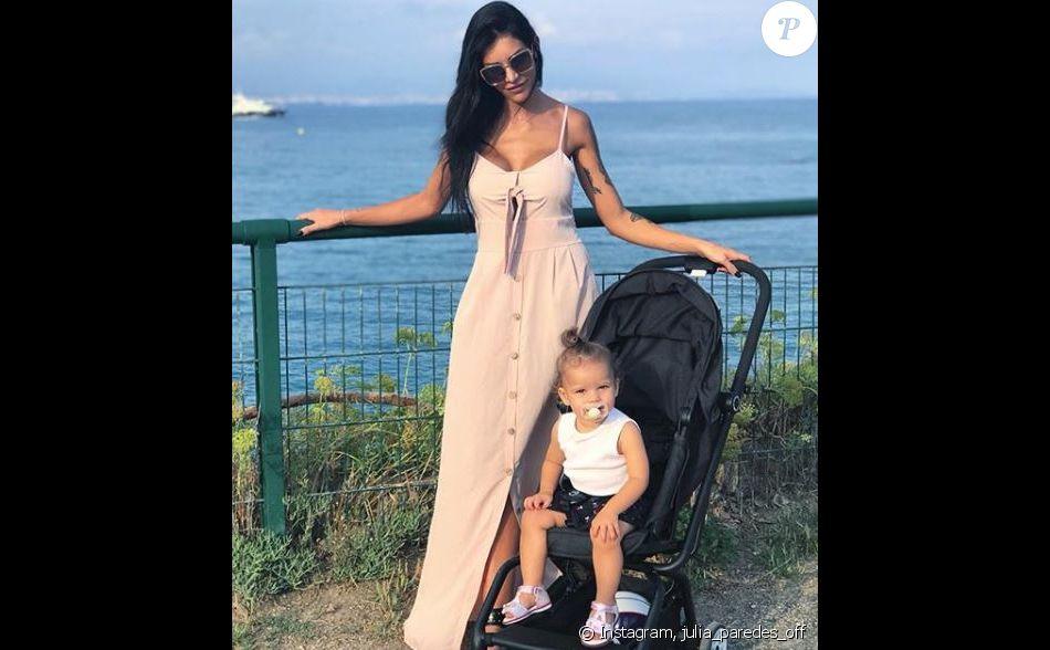 Julia Paredes et sa fille Luna dans le sud de la France - Instagram, 15 septembre 2018
