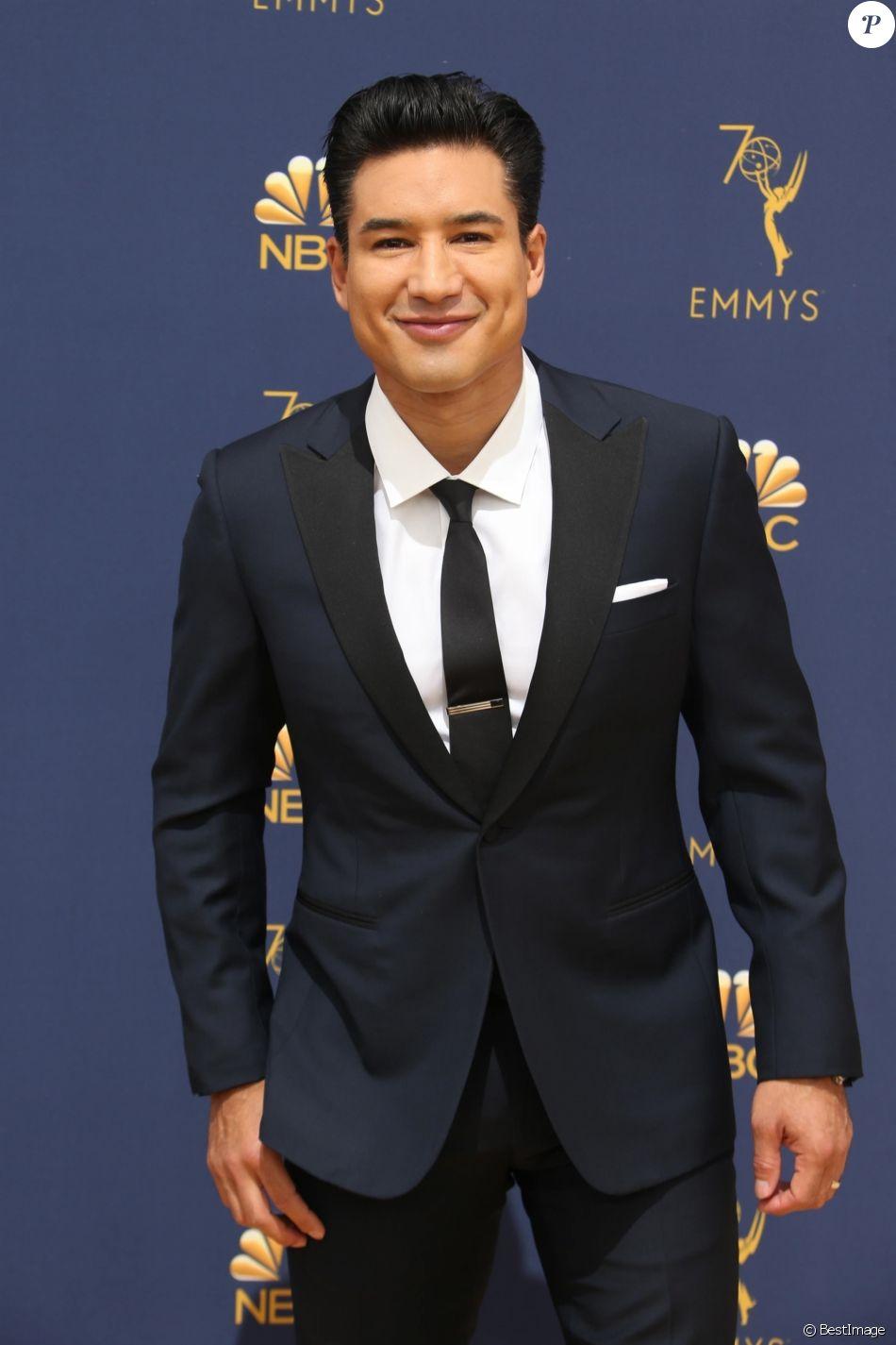 Mario Lopez au 70ème Primetime Emmy Awards au théâtre Microsoft à Los Angeles, le 17 septembre 2018.