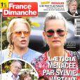 """Couverture du magazine """"France Dimanche"""", numéro 3760, publié le 21 septembre 2018."""