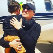 Gad Elmaleh à Monaco : Tout roule avec son fils Raphaël