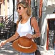 Jennifer Aniston et Justin Theroux à New York en juillet 2017