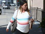 Hilary Duff : Enceinte de 9 mois, elle confronte un homme qui la harcèle !