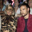 """Cardi B et Liam Payne au défilé de mode """"Dolce & Gabbana"""" lors de la fashion week de Milan. Le 23 septembre 2018"""