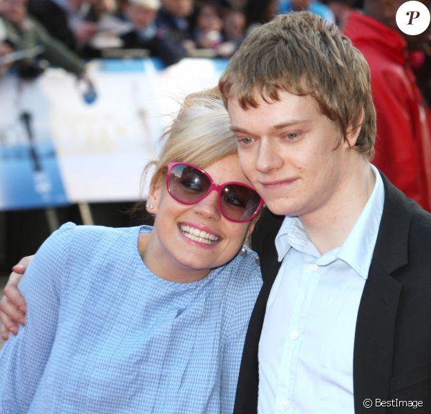Lily Allen et son frère Alfie à Londres en 2008.