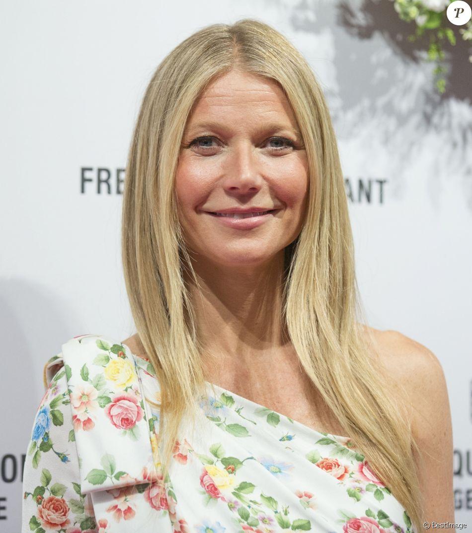 """Gwyneth Paltrow au lancement de la collection de montres """"Gwyneth Paltrow X Frederique Constant"""" à Londres, le 21 juin 2018."""