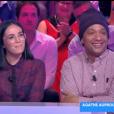 """Agathe Auproux met un gros rateau à Doc Gynéco sur le plateau de """"Touche pas à mon poste"""" (C8) le 27 septembre 2018."""