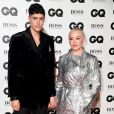 Rose McGowan et Rain Dove aux GQ Men of the Year Awards 2018 à Londres, le 5 septembre 208.